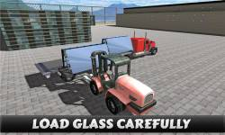Truck Driver Glass Transport screenshot 1/5