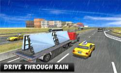 Truck Driver Glass Transport screenshot 2/5