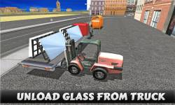 Truck Driver Glass Transport screenshot 4/5