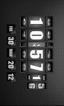 3D Rolling Clock widgets BLACK screenshot 4/6