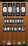 3D Rolling Clock widgets BLACK screenshot 6/6