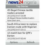 News24 Nigeria screenshot 1/3