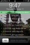 Wall Calendar Lite screenshot 1/1