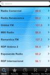 Rdio de Portugal  - Alarm Clock + Recording screenshot 1/1