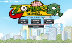 Zombies Inc screenshot 2/6