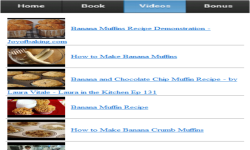 Banana Muffins App screenshot 3/3
