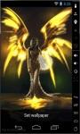 Golden Angel Live Wallpaper screenshot 1/2