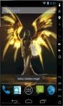 Golden Angel Live Wallpaper screenshot 2/2