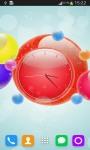 Bubble Clock Live Wallpaper screenshot 2/6