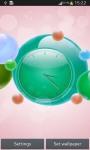 Bubble Clock Live Wallpaper screenshot 3/6
