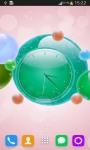 Bubble Clock Live Wallpaper screenshot 4/6