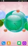 Bubble Clock Live Wallpaper screenshot 6/6