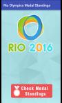 Rio Olympics 2016 Medals Rankings screenshot 1/3