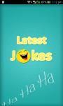 Latest Jokes With sharing screenshot 1/6