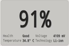 My Battery Status screenshot 1/1