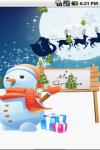 Merry Christmas Live Wallpaper Free screenshot 1/3