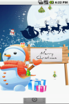 Merry Christmas Live Wallpaper Free screenshot 2/3