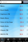 Radio South Africa - Alarm Clock + Recording screenshot 1/1