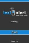Textalert Plus  Text SMS Reminder screenshot 1/1