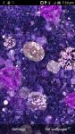 Purple Diamonds Live Wallpaper free screenshot 2/3