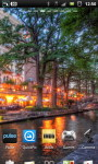 San Antonio Riverwalk Cafe Live Wallpaper screenshot 3/6