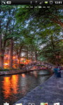 San Antonio Riverwalk Cafe Live Wallpaper screenshot 4/6