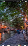 San Antonio Riverwalk Cafe Live Wallpaper screenshot 5/6
