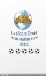 LiveScore Droid screenshot 1/3