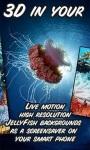 JellyFish 3D in your phone LWP free screenshot 2/4