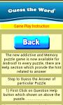 Word Guessing game screenshot 3/4
