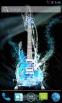 Water Guitar Live Wallpaper screenshot 1/4