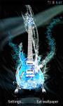 Water Guitar Live Wallpaper screenshot 2/4