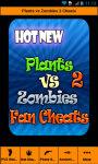 Plants vs Zombies 2 Latest Cheats screenshot 1/5