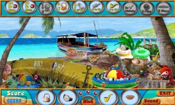 Free Hidden Object Games - Coastline screenshot 3/4