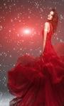 Red Beauty Live Wallpaper screenshot 3/3