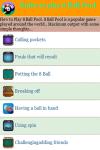 Rules to play Eight Ball Pool screenshot 3/4