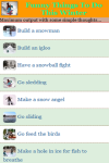 Funny Things To Do This Winter screenshot 2/3