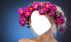 Woman Hair Flowers Editor screenshot 4/6
