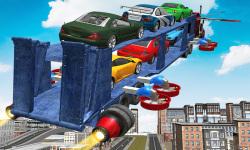 Flying Car Transport Truck 3D screenshot 1/3