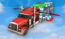 Flying Car Transport Truck 3D screenshot 3/3