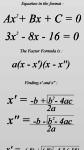 Easy Factoring a quadratic Equation screenshot 2/2