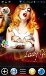Lady Gaga Live Wallpapers screenshot 2/4