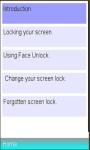 screenlock Info screenshot 1/1