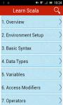 Learn Scala screenshot 1/2