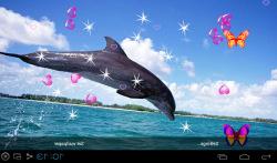 3D Dolphin Live Wallpapers screenshot 3/5
