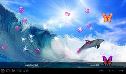 3D Dolphin Live Wallpapers screenshot 5/5