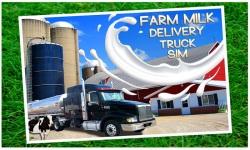 Farm Milk Delivery Truck Sim screenshot 1/5