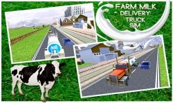 Farm Milk Delivery Truck Sim screenshot 2/5