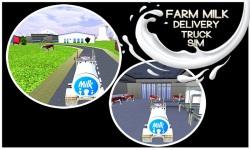 Farm Milk Delivery Truck Sim screenshot 3/5