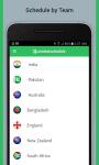 Cricket Schedule and Live Score screenshot 3/3